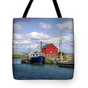 Hall's Harbour 01 Tote Bag