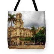 Havana's Palacio Del Centro Asturiano Tote Bag