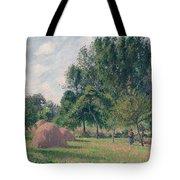 Haystacks, Morning, Eragny, 1899 Tote Bag