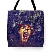 Heavy Metal Rock Star Tote Bag