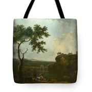 Holt Bridge On The River Dee  Tote Bag