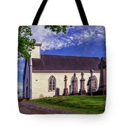Holy Cross Cemetery And Our Lady Of Sorrows Chapel Tote Bag