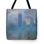 Houses Of Parliament, London Tote Bag