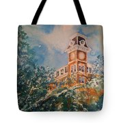 Ice On Old Main Tote Bag