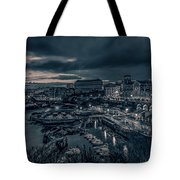 In The Silent Harbour Tote Bag