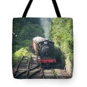 J27 Locomotive 65894 On North York Moors Railway Tote Bag