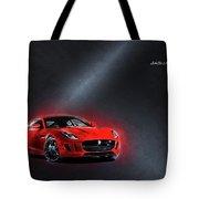 Jaguar F-type Tote Bag
