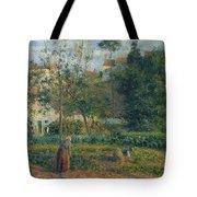 Kitchen Garden At The Hermitage, Pontoise, 1879 Tote Bag