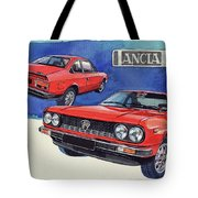 Lancia Beta 1300 Tote Bag