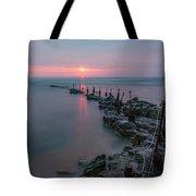 Longhoughton Beach - England Tote Bag