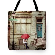 Love On The Square Tote Bag
