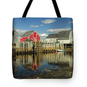 Low Tide At Blue Rocks  03 Tote Bag