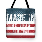 Made In Mc Graw, New York Tote Bag