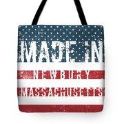 Made In Newbury, Massachusetts Tote Bag