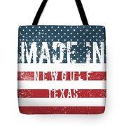 Made In Newgulf, Texas Tote Bag