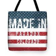 Made In Paradox, Colorado Tote Bag
