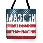 Made In Pateros, Washington Tote Bag