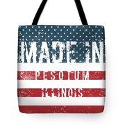 Made In Pesotum, Illinois Tote Bag