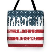 Made In Zwolle, Louisiana Tote Bag
