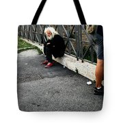 Man Of   The Pyramid Of Cestius Tote Bag