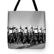 March At Airport Tote Bag