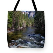 Merced River, Yosemite National Park Tote Bag