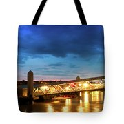 Mersey Ferry Floating Landing Stage Tote Bag