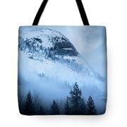 Misty Evening Tote Bag by Vincent Bonafede