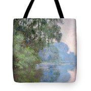 Morning On The Seine Near Giverny, 1897 Tote Bag