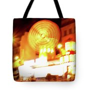 Moulin Rouge Tote Bag by Edward Lee