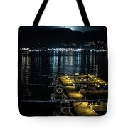 Mountain Lights Tote Bag by Ross G Strachan