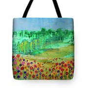Mountain Meadow Tote Bag by Kim Nelson