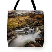 Mountains North Wales Tote Bag