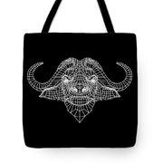 Night Buffalo Tote Bag