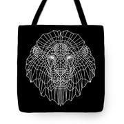 Night Lion Tote Bag