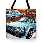 Nissan Bluebird Sw Tote Bag