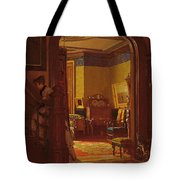 Not At Home Tote Bag