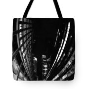 Nyc In Black And White Vii Tote Bag