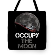 Occupy The Moon Tote Bag