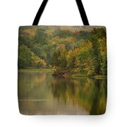 October Reflections Oct 2nd Tote Bag by Jeff Phillippi