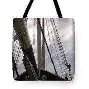 Old Viking Vessel Tote Bag