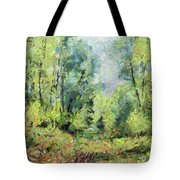 On The Edge Of The Marsh Tote Bag