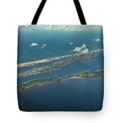 Ono Island-5326 Tote Bag by Gulf Coast Aerials -