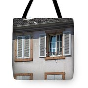 Open And Closed Tote Bag