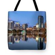 Orlando Skyline Tote Bag