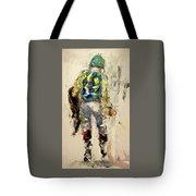 Phantom Jockey Tote Bag