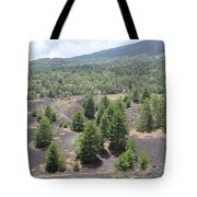 Photography Landscape Shot From The Etna National Park On Sicily Tote Bag
