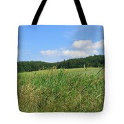 Photography Landscape With Fields In Germany Tote Bag