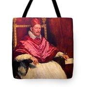 Pope Innocent X Tote Bag