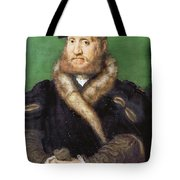 Portrait Of A Bearded Man With A Fur Coat  Tote Bag